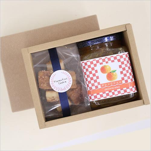 ジャムとクッキー ギフト箱 パッケージ